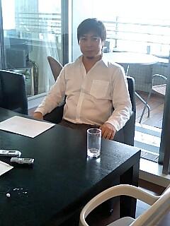 人材募集について熱く語る古澤社長