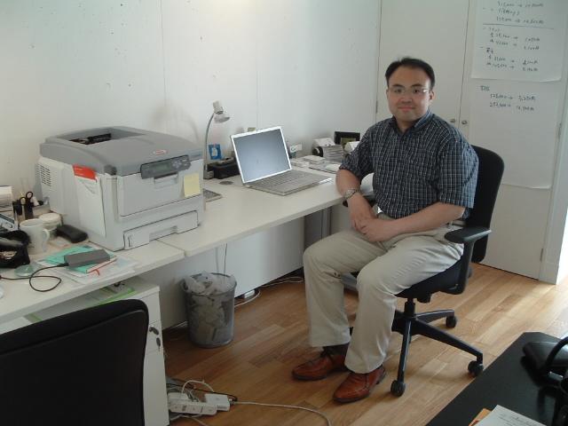 元オーバーチュア取締役の泉浩人社長