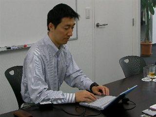 この日は西新宿の日本技芸オフィスにてインタビューを行いました